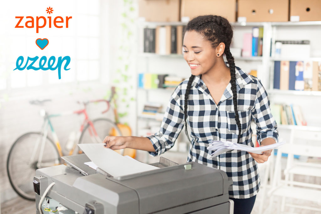 Need a Zapier printing option? ezeep now offers you thousands of scenarios for your printing workflow needs.